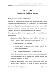 chap1 - Engineering Problems solving