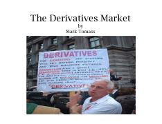 Tomass - 5. The Derivatives Markets-1