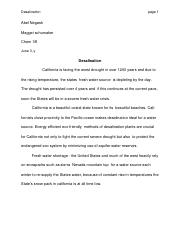 chem 1B research paper