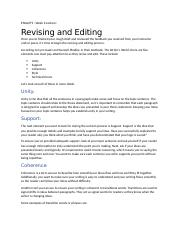 Week 6 Lecture-Revising and Editing transcript for video.docx
