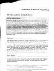 A2. Case Study - Auditor Independence.pdf
