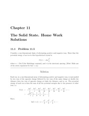 PHYS 206 Chapter 11 Homework Solutions