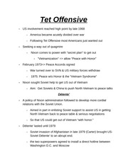 Tet Offensive Notes