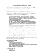 LAWS11030 T216 Exam Notes