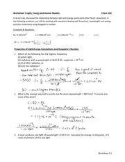 Worksheet_3_Light_Energy_and_Atomic_Models_Key - Worksheet 3 Light ...