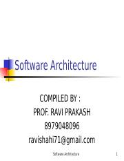 SW ARCHITECTURE.ppt
