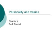 PersonalityandValuesstudentversion