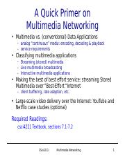 csci4211-multimedia-networking.ppt