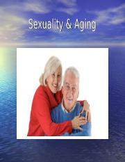 Sexuality & Aging