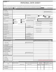 2017 revised PDS - (CS Form No. 212).xlsx