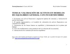tema 4_Asset pricing bajo incertidumbre