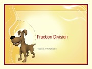 fraction division