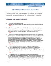 MA1340 Week 1 Homework Answer Key.docx