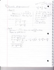 Class Notes - Finding Perpendicular