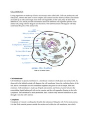 CELL BIOLOGY article
