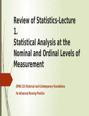 Lecture 1 Stat-Nominal and Ordinal.-2016 (1).pptx