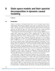 State_space_models_and_their_spectral_decomposition_in_dynamic_causal_modeling