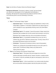 Essay Outline - How We Elect a President_ What Is the Electoral College_.pdf