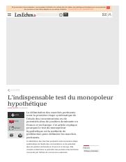 l indispensable test