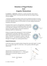 chapter  10  Rotation of rigid body