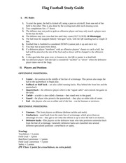 Flag Football Study Guide 1