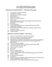PSYC 101 Terms You Must Know (1)