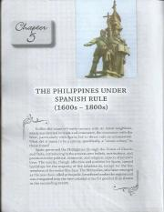 Phils. Under Spanish Rule (Chapter 5&6)