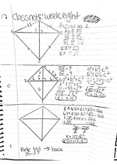 math classnote: Corresponding parts of congruent triangles