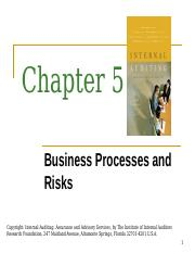 CH 05 Business Processses and Risks_Post (1).ppt