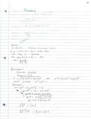 Algebra 2 Graphs and their function notes