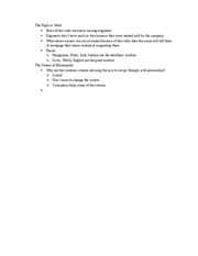 Discussion Notes 1