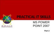 PITS Week 11 PowerPoint 2007.pptx