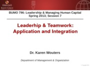 BUMO 796 session 7 - Application & Integration - Unmovable Team - For Canvas