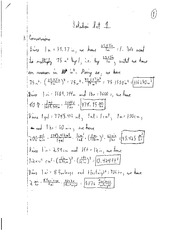 PHYS 213 - PS1 Solutions