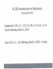 EE 202 - Assignment 2 - Solutions