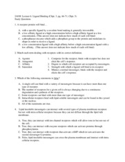 human physiology study questions 6