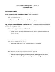 Psychology Study Plan Exam 2.docx