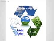 Public Health 60 Environmental Quality and Health South Korea South Africa Brazil Presentation