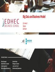 edhec - Big Data and Business Model - v1