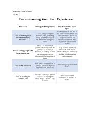 Deconstructing Your Fear Experience - KRCM.docx
