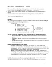 GEOG 1114 - Completed Lecture Exam 3 Help Sheet.docx