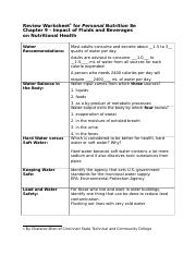 9 Review Worksheet ULRICH