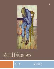 9. Mood Disorders Part 4 - for students