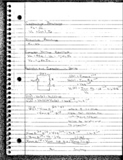 Capactive Reactance Notes
