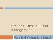 ICMI_354_Week_4_Organizational_Cultures_and_Diversity