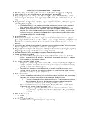 CHAPTER 10 & 11 AP ENVIRONMENTAL STUDY GUIDE