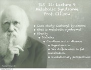 SLS 21 Spring 2012 Lecture 5a