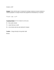 CHEM 6A October 2 Lecture 2