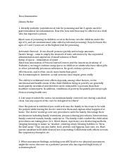 Diabetes Type 1 pdf - Module Report Tutorial Real Life RN