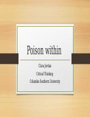 Poison within powerpoint